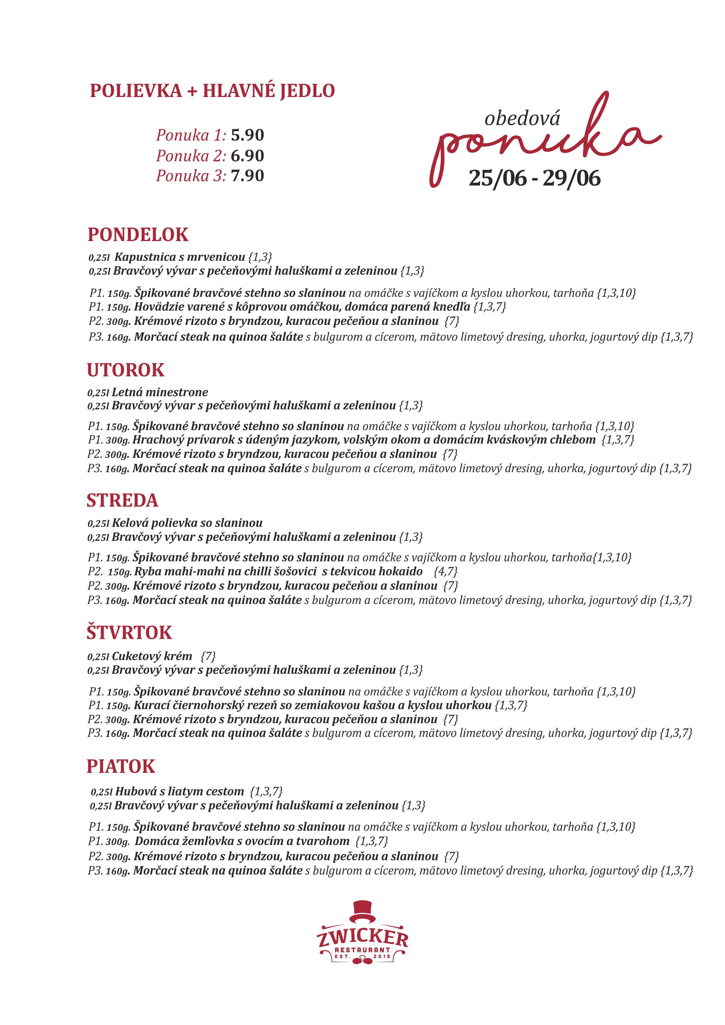 OBEDOVE MENU ZWICKER 25_06_18